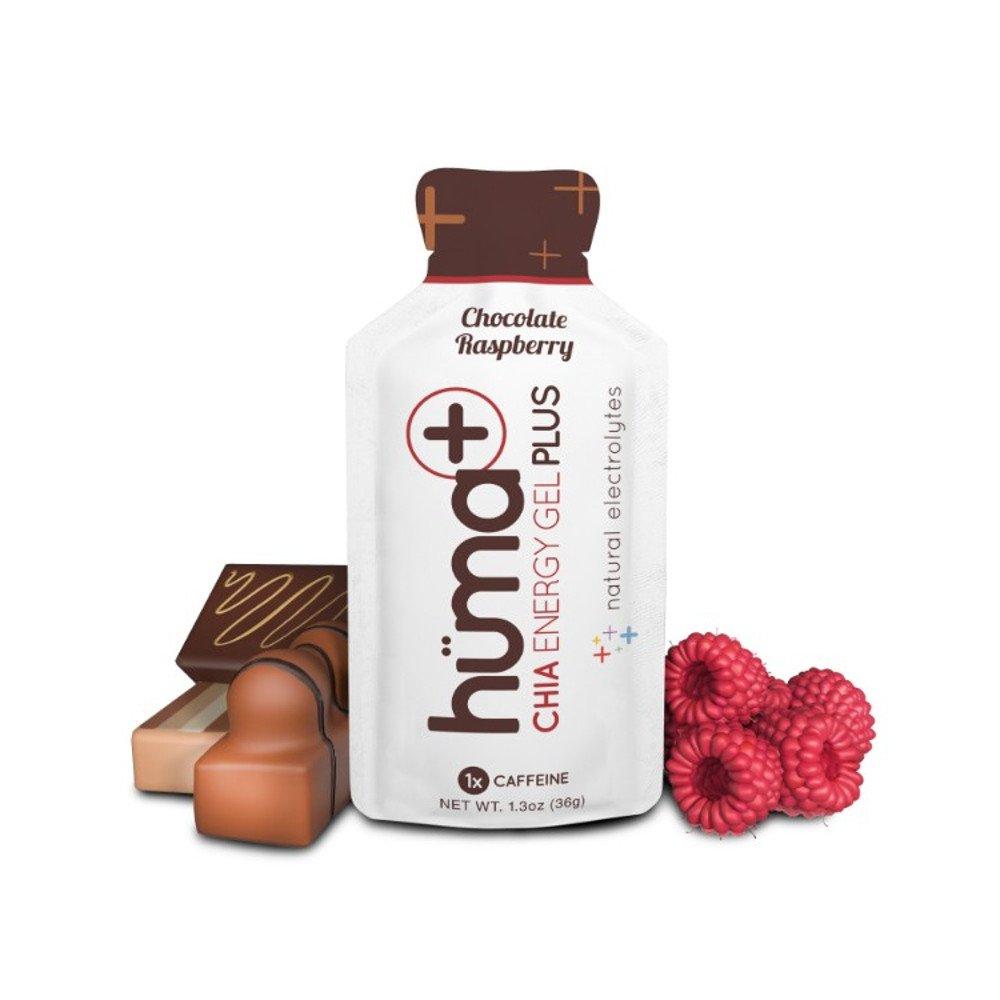 huma chia energy gel plus czekolada malina + kofeina