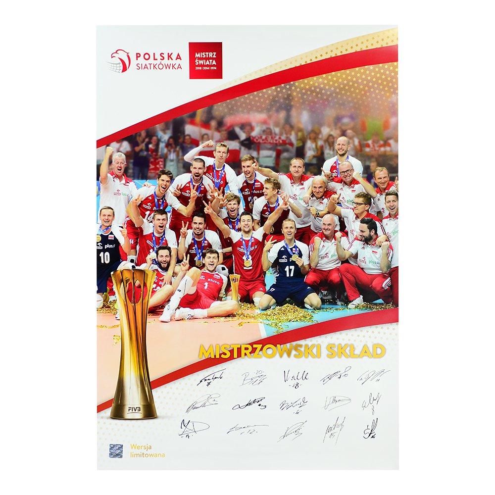 plakat mistrzów Świata 2018