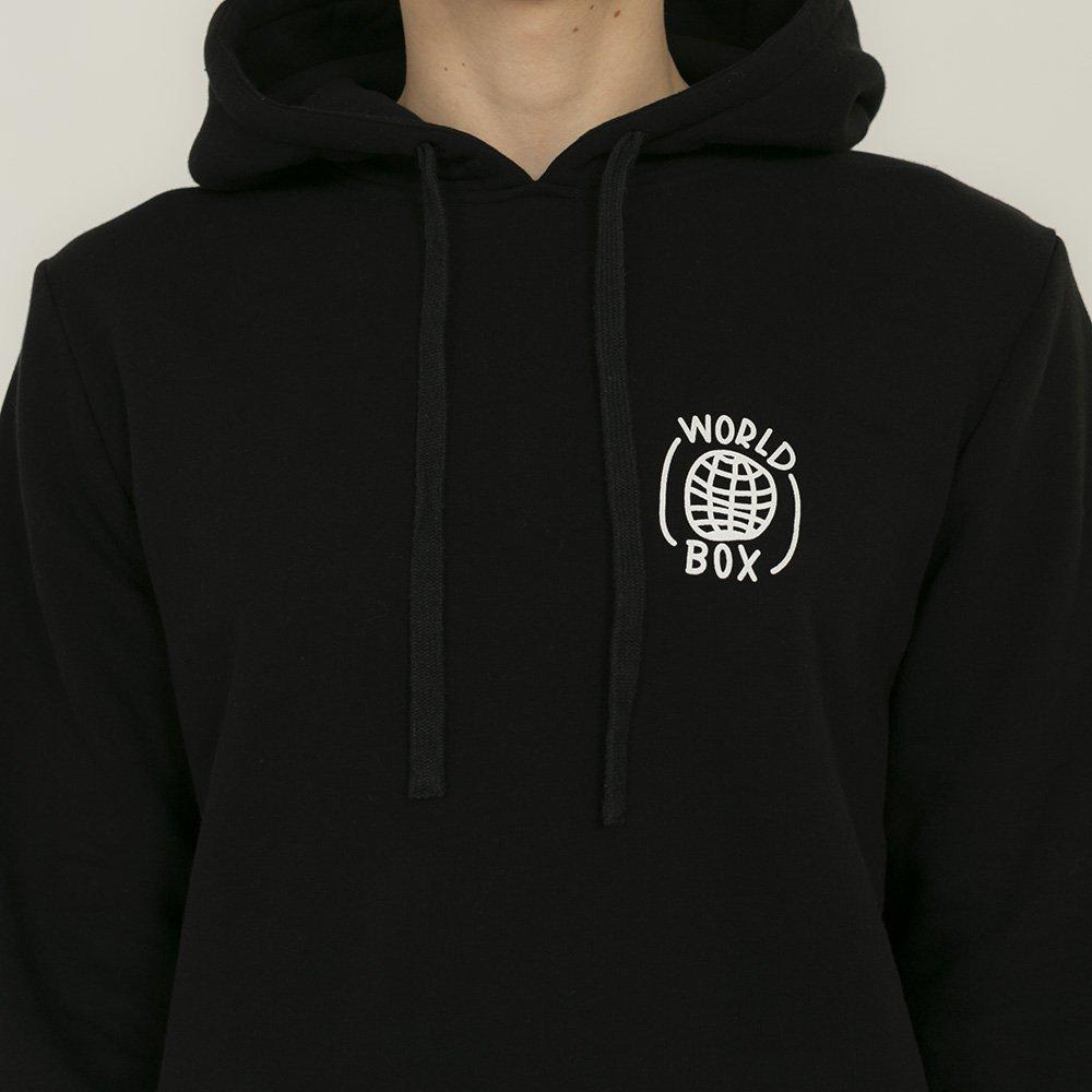 worldbox black box hoodie (wbbl-world-blk)