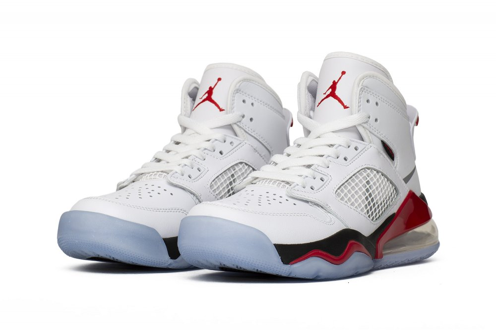jordan mars 270 (gs) 'fire red' (bq6508-100)