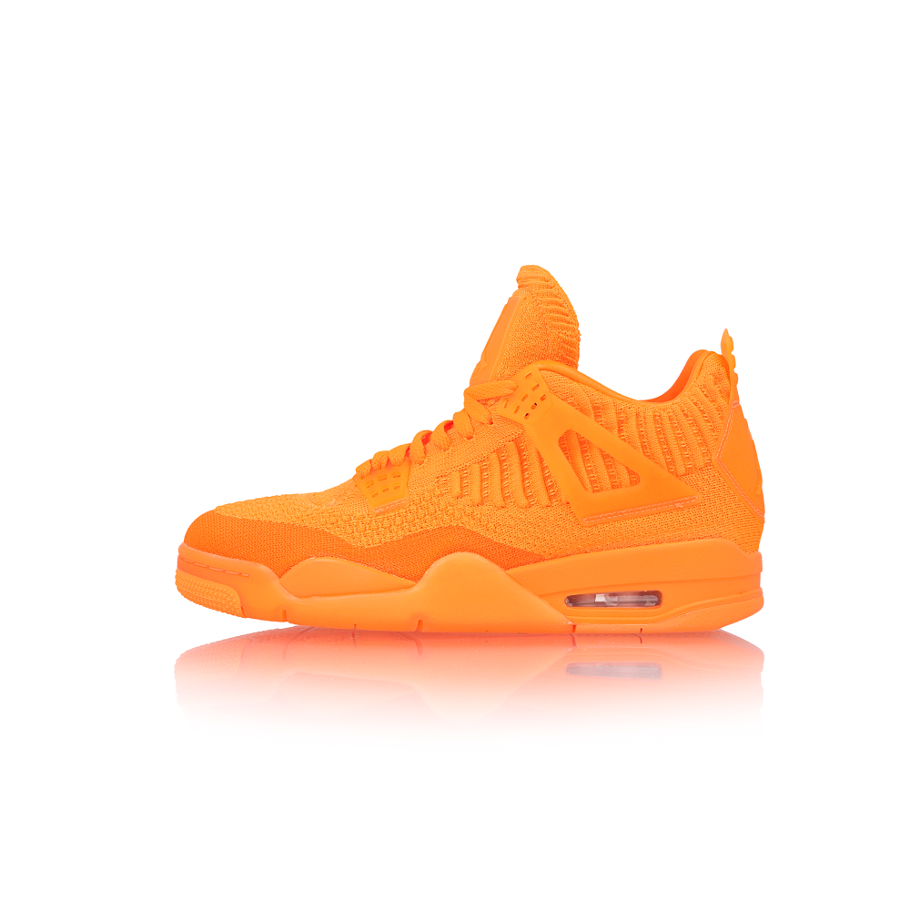 "air jordan 4 retro flyknit ""total orange"""