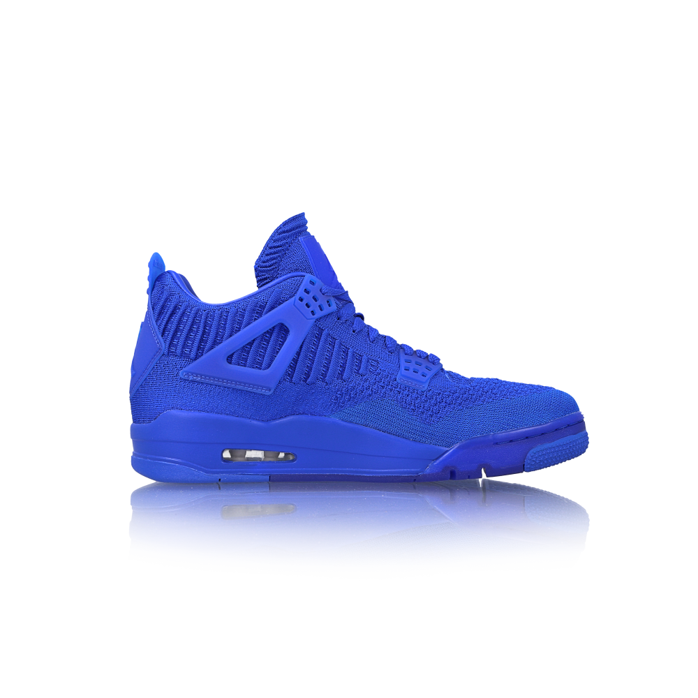 "air jordan 4 retro flyknit ""hyper royal"""