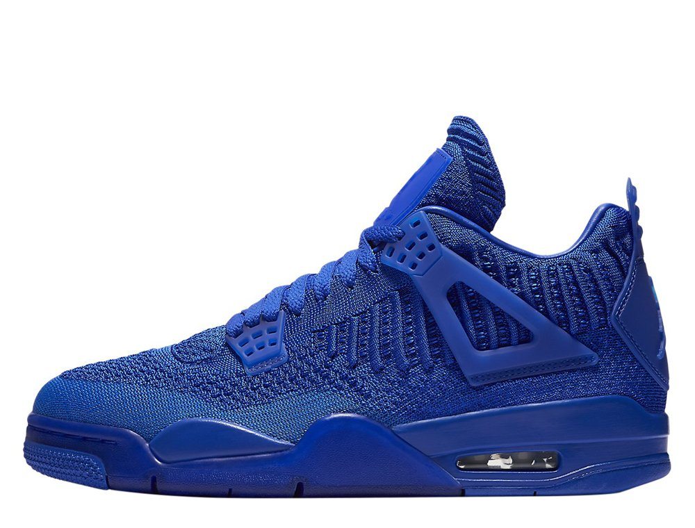 "air jordan 4 retro flyknit ""hyper royal"" (aq3559-400)"