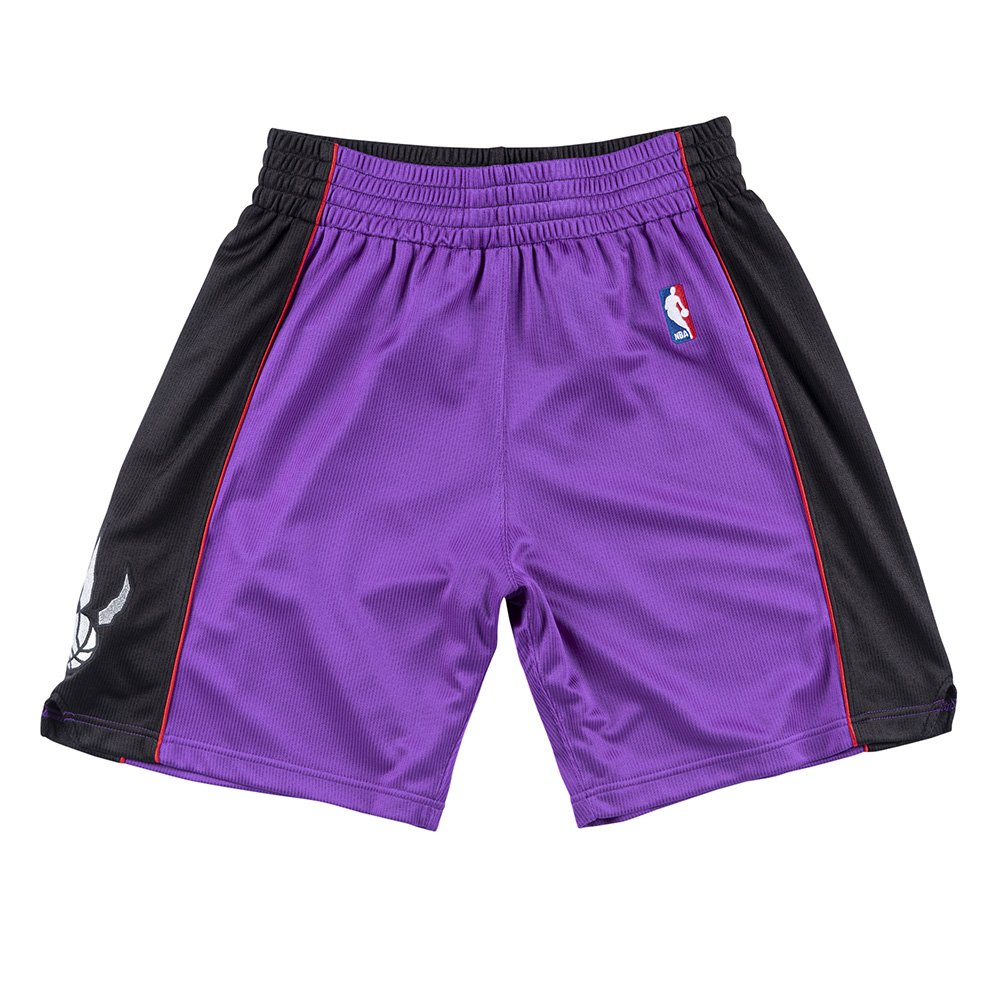 mitchelle & ness nba authentic shorts toronto raptors (ashrgs18487-trapurp9)