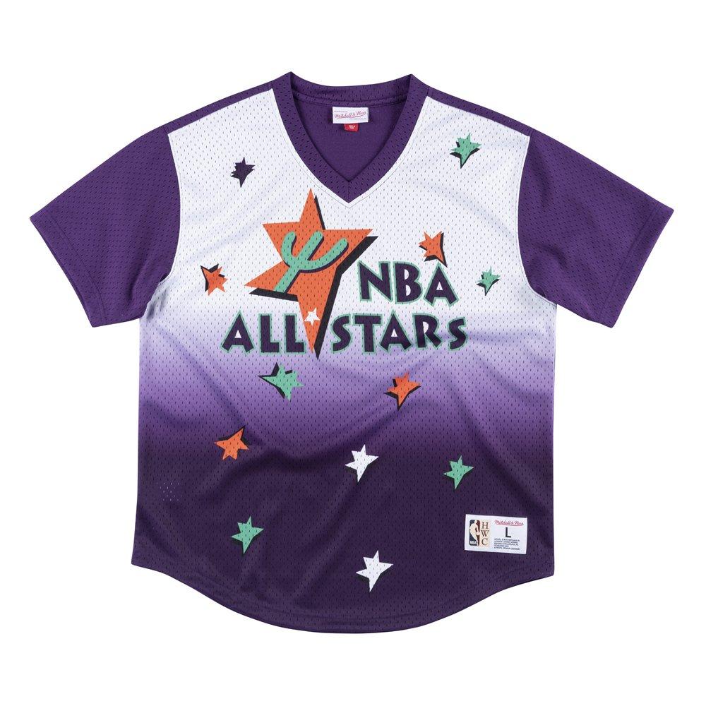 mitchell & ness game winning shot mesh all star nba (mspomg18044-asgptpr9)