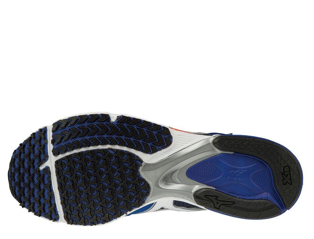 buty mizuno wave emperor 3 blue atoll / white / nasturtium