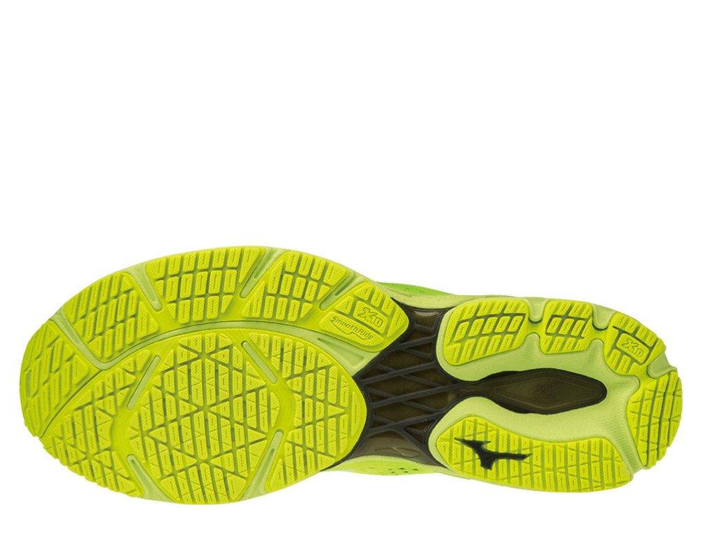 mizuno wave shadow 3 m zielono-Żółte