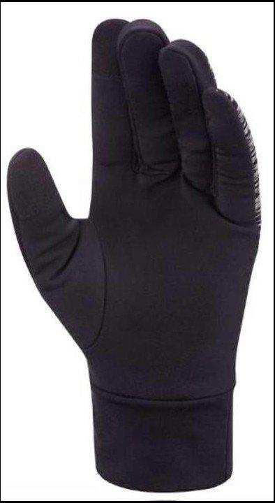 mizuno windproof glove black
