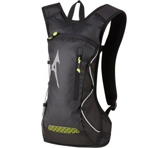 mizuno running backpack black