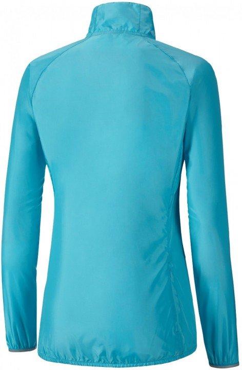 mizuno impulse impermalite jacket blue yellow
