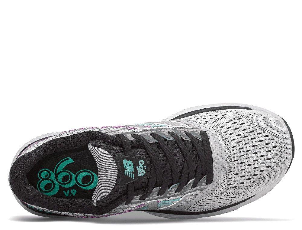 new balance 860v9 w srebrno-szary