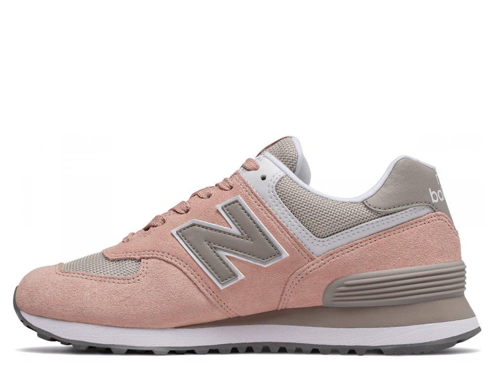 new balance 574 damskie różowe (wl574nda)
