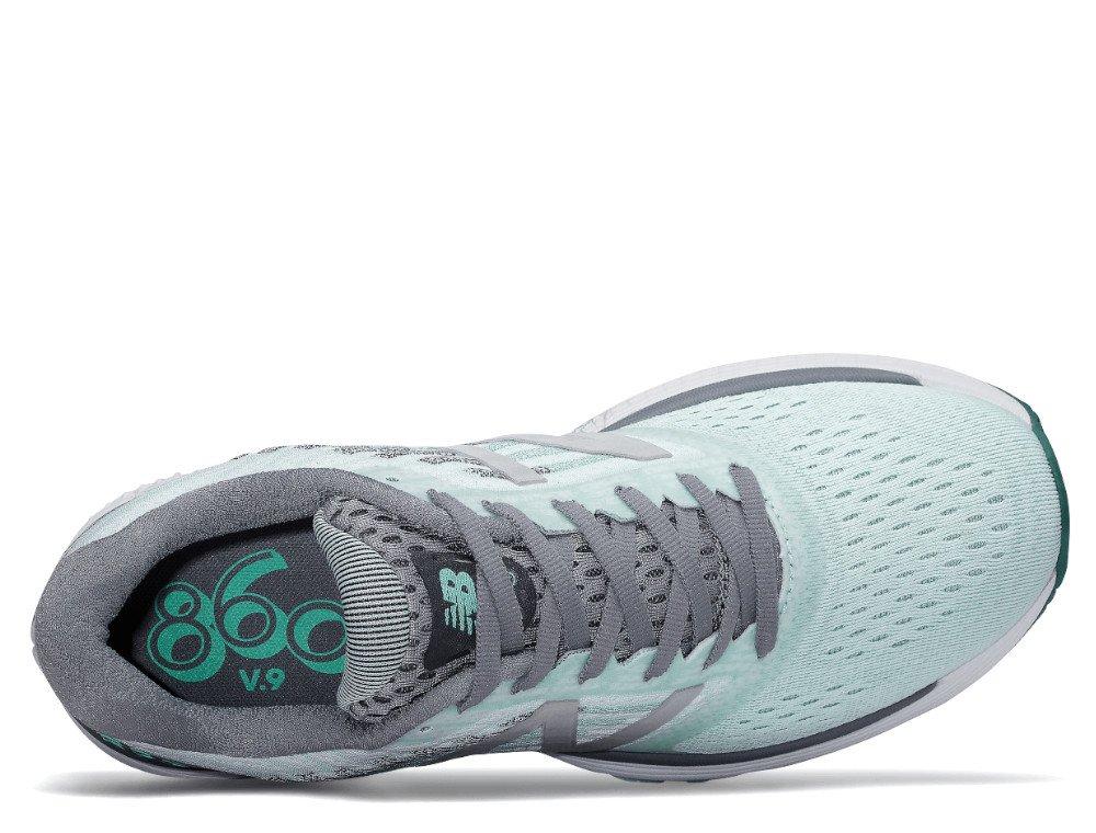new balance 860v9 w szaro-błękitne
