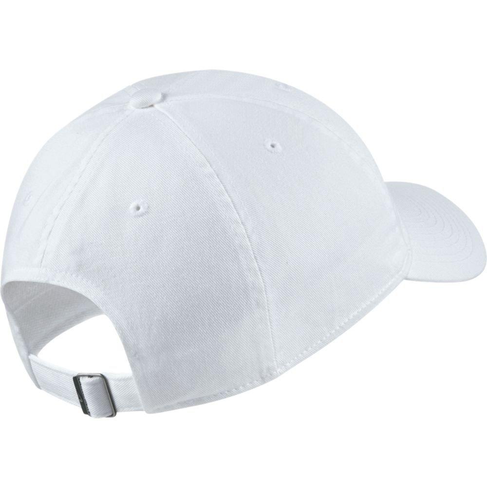 nike sportswear heritage 86 cap biała
