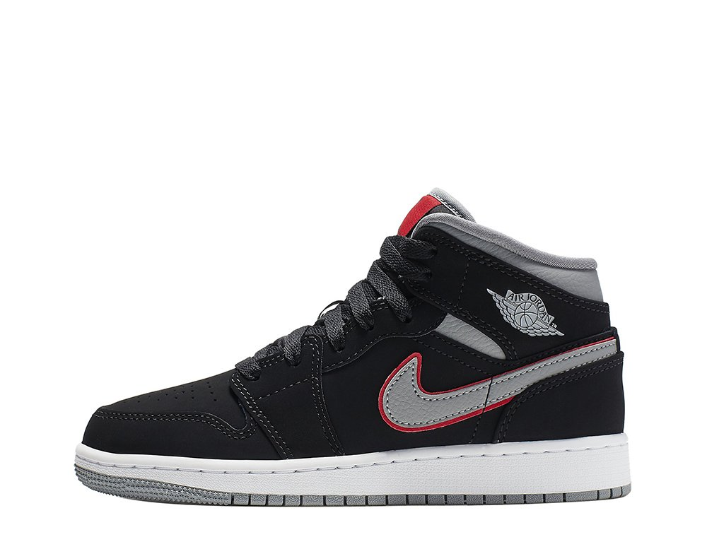 air jordan 1 mid (gs) (554725-060)