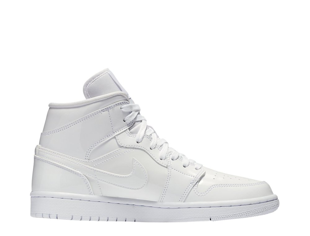 women's air jordan 1 mid (bq6472-111)