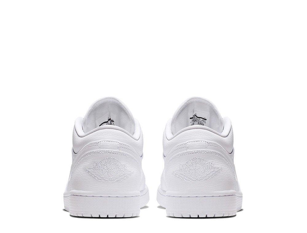 """air jordan 1 low """"white"""" (553558-112)"""