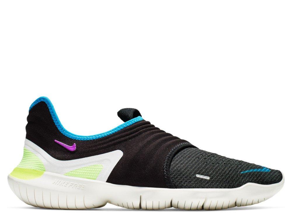 szczegółowe zdjęcia na sprzedaż online sklep z wyprzedażami Nike Free RN Flyknit 3.0 M Multikolor-Czarne
