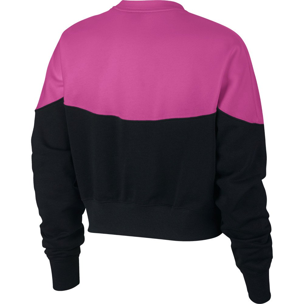 bluza nike wmns nsw heritage crew fleece (ar2505-011)