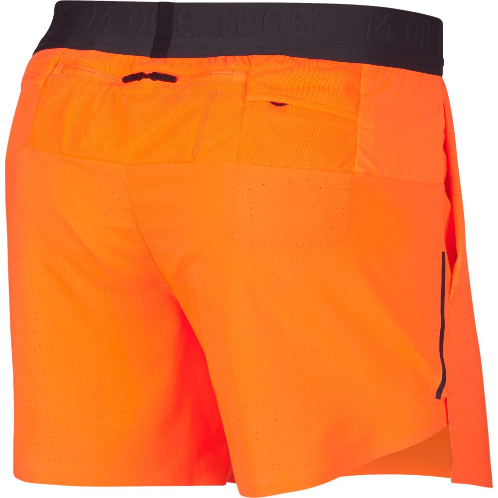 nike tech pack flex stride 5 inch shorts m pomarańczowe