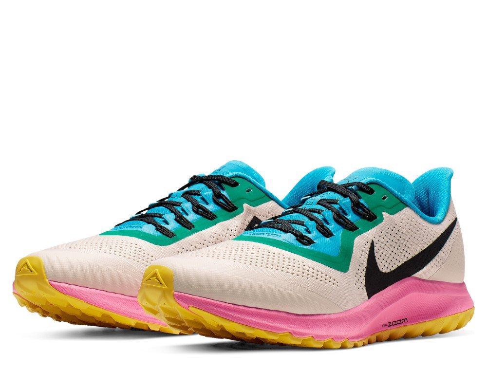 Nike Air Zoom Pegasus 36 Trail M Multikolor Beżowe