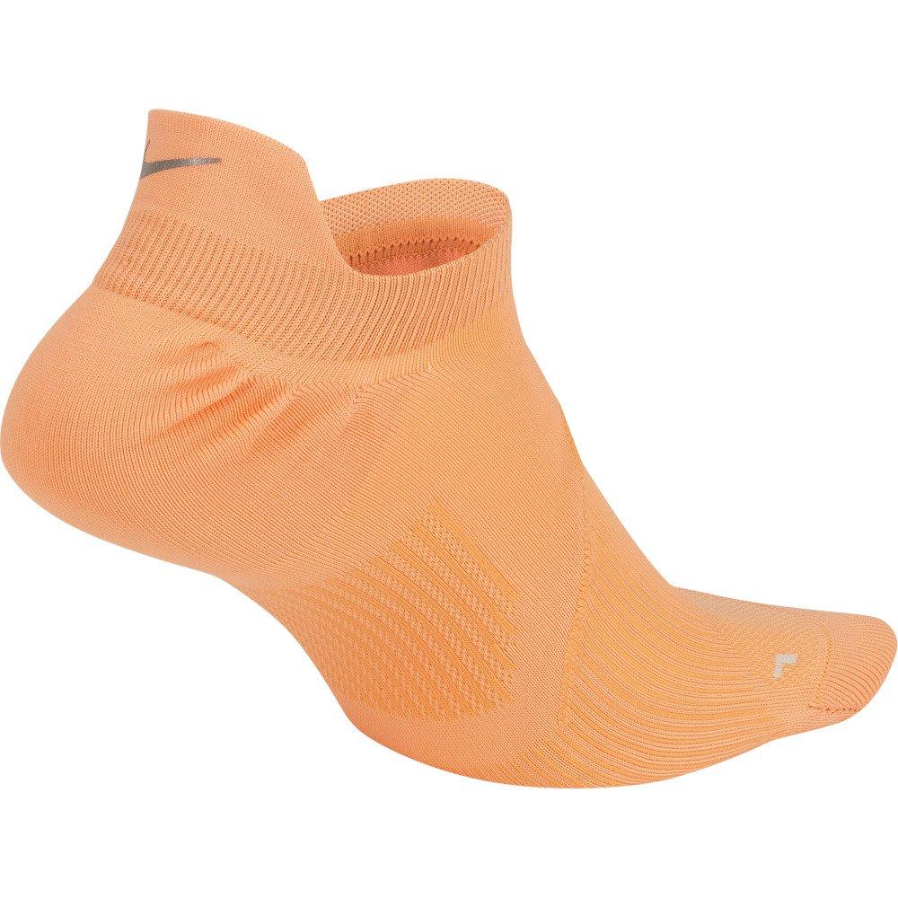 nike elite lightweight no-show socks u pomarańczowe