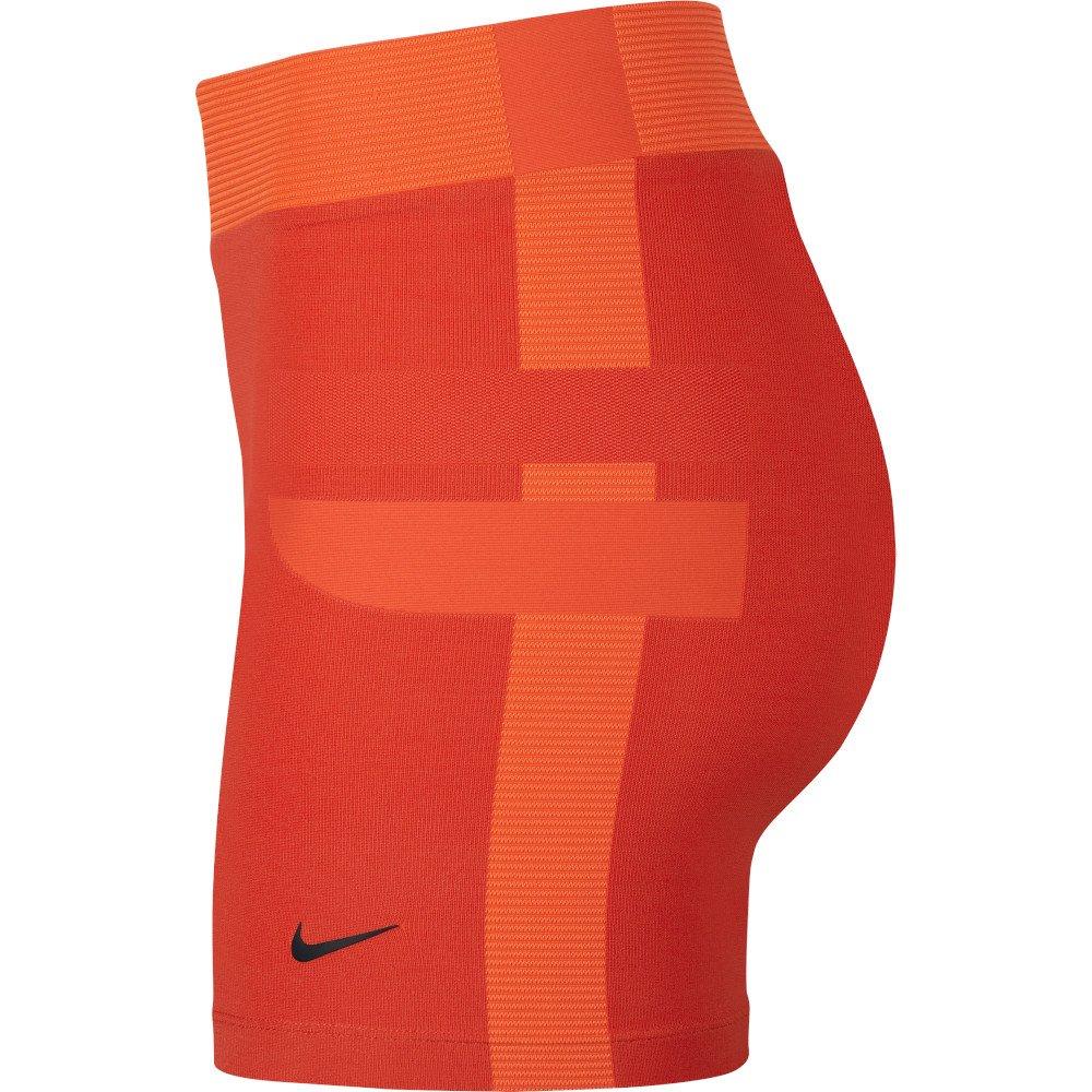 nike pro tech pack hypercool 3 inch shorts w pomarańczowe