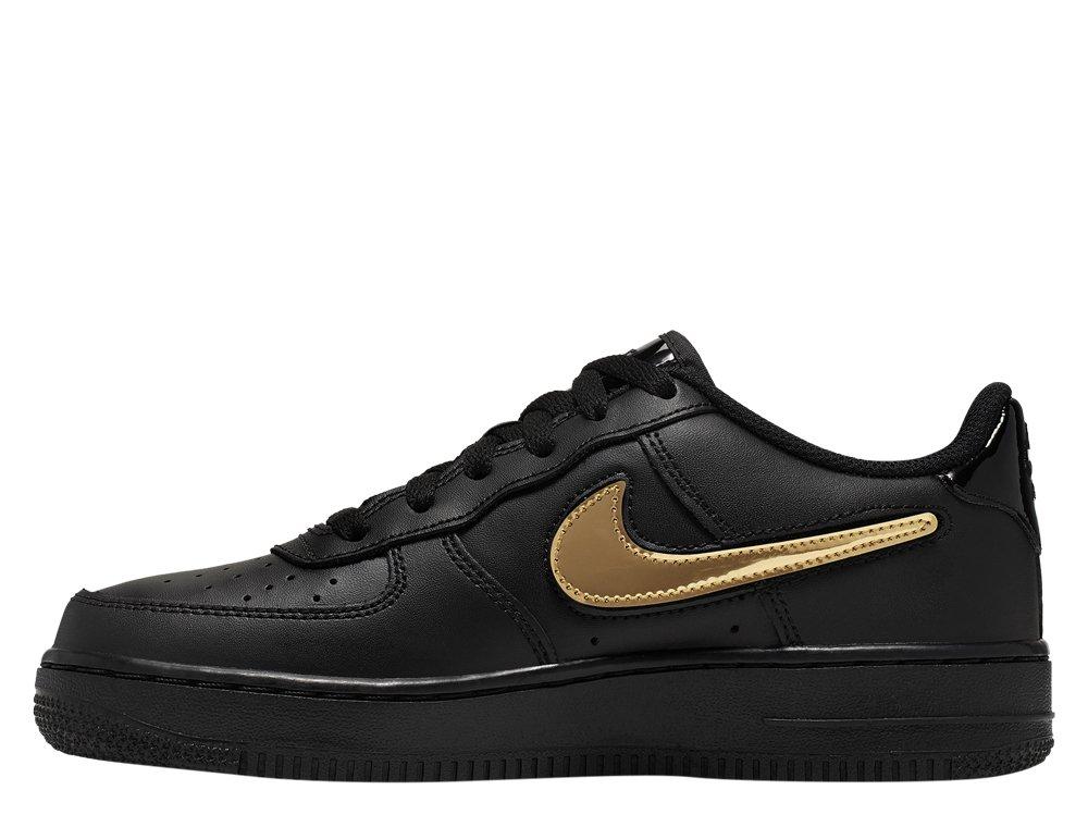 Nike Air Force 1 LV8 (GS) Młodzieżowe Czarne (AR7446 001)