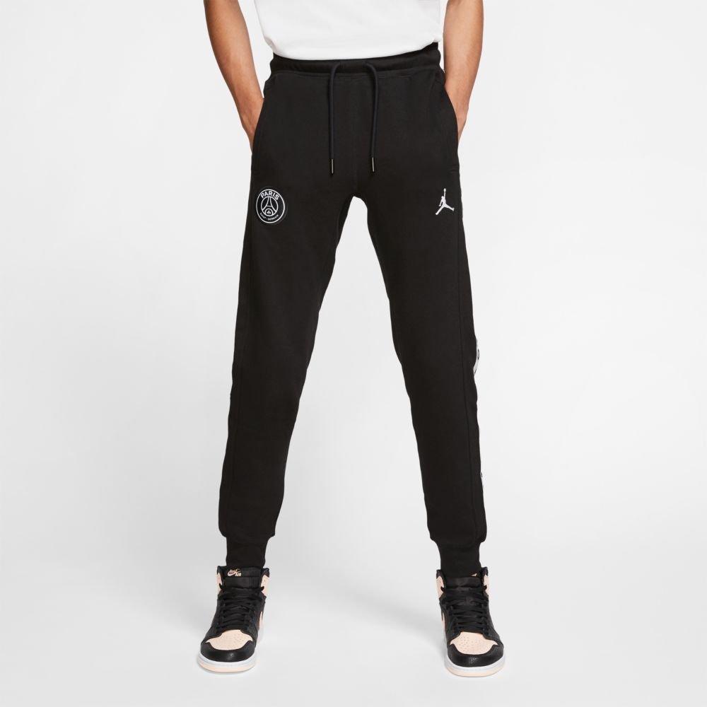 jordan x psg fleece pants (bq8348-010)