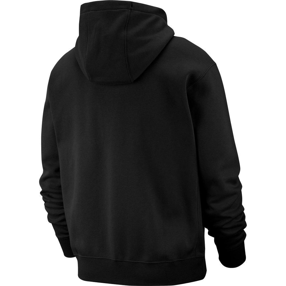 nike nsw club hoodie fz (bv2645-010)