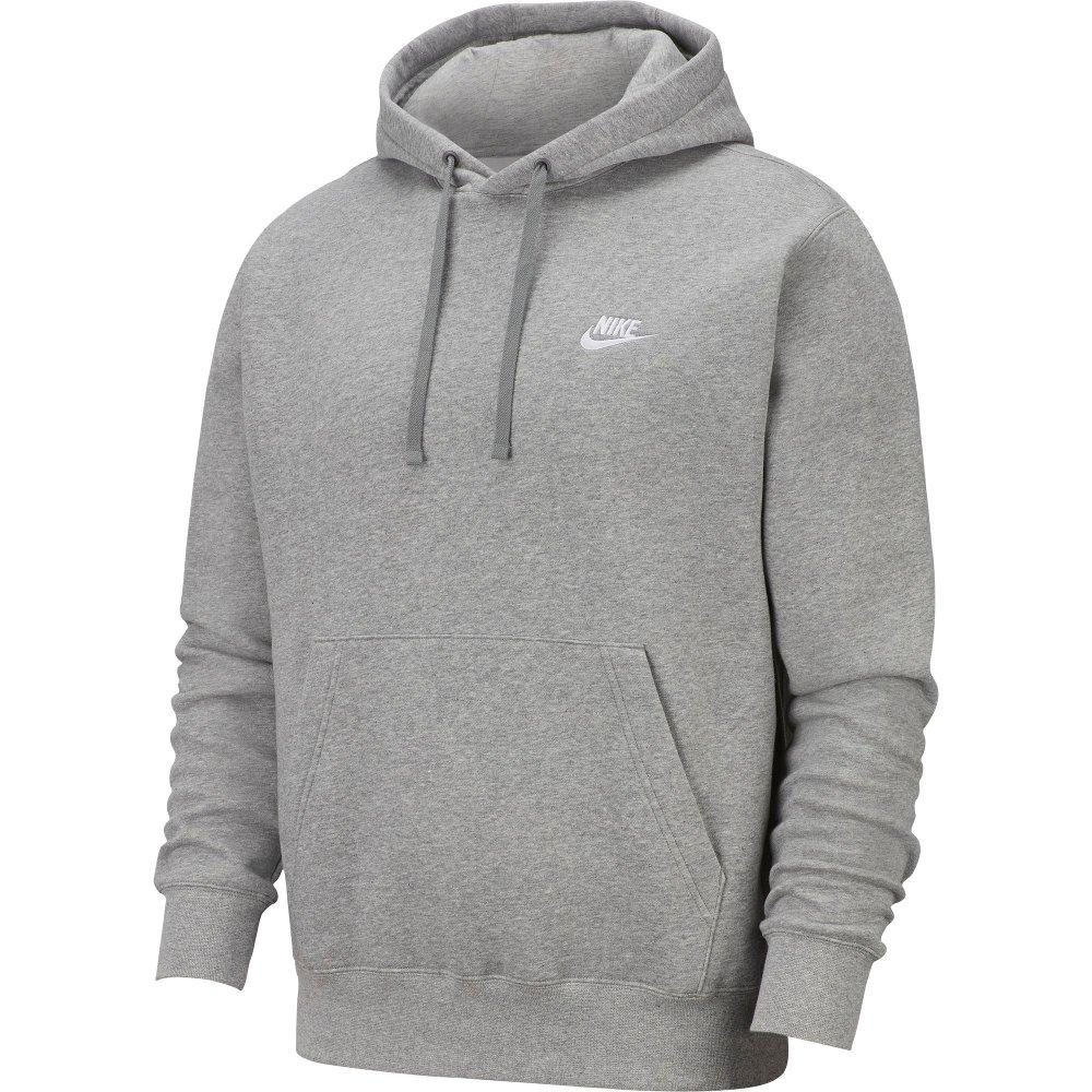 nike nsw club hoodie (bv2654-063)