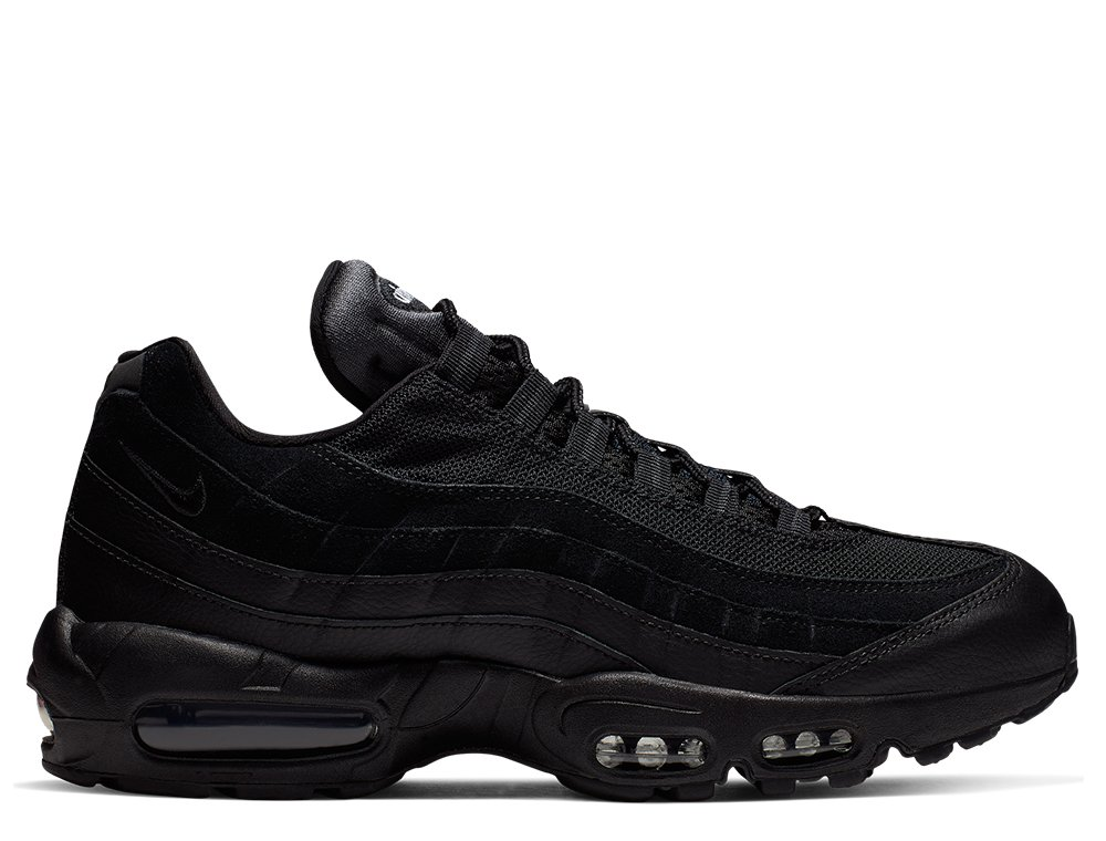 nike air max 95 essential męskie czarne (at9865-001)