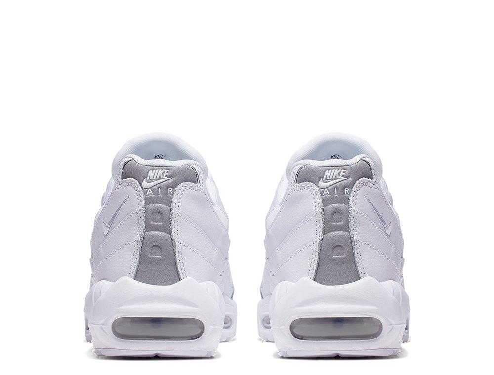 nike air max 95 essential męskie białe (at9865-100)