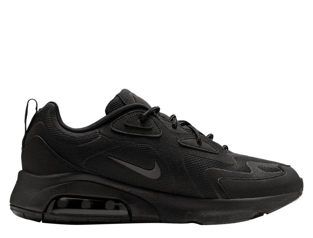 nike air max 200 męskie czarne (aq2568-003)