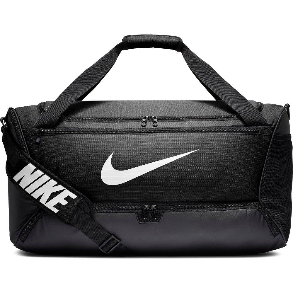 nike brasilia training duffle bag medium (60l) czarna