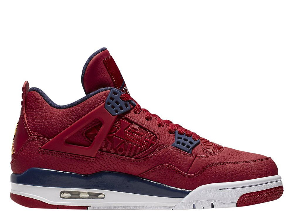 air jordan 4 retro fiba gym red (ci1184-617)