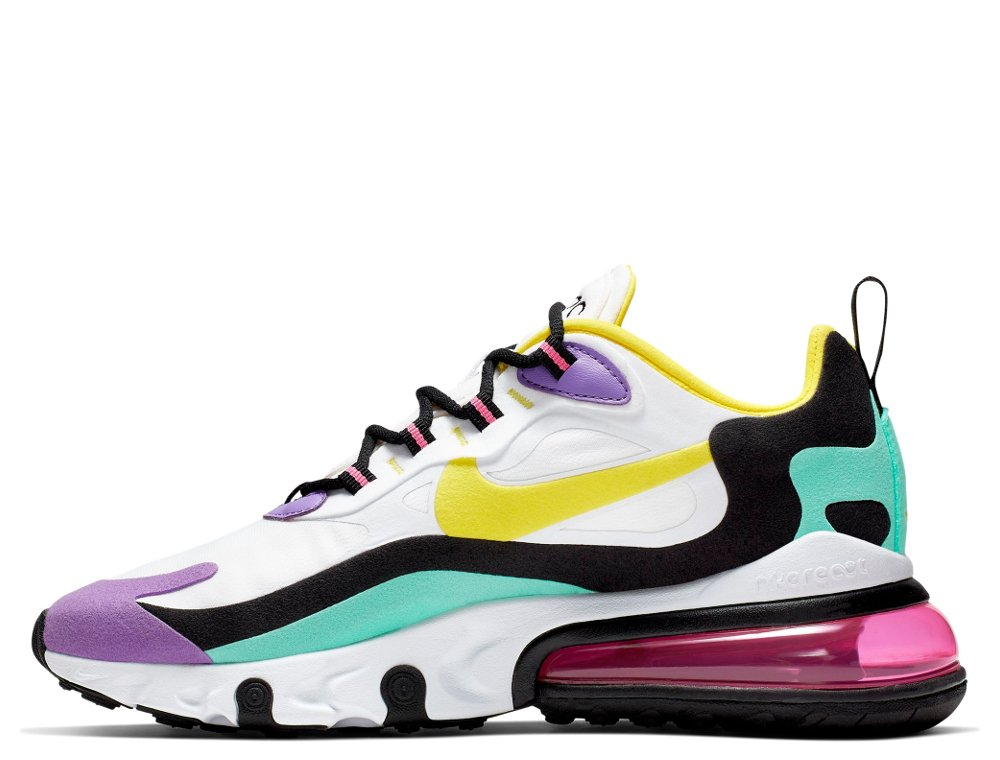 Nike Wmns Air Max 270 React Damskie Białe (AT6174 101)