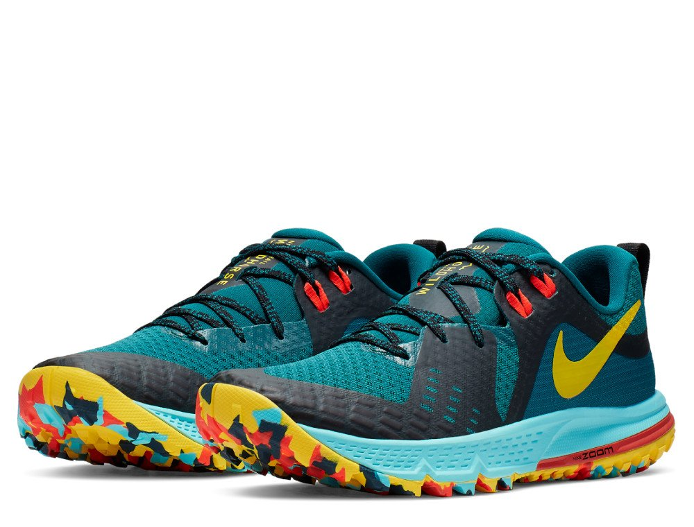 nike air zoom wildhorse 5 w multikolor turkusowe