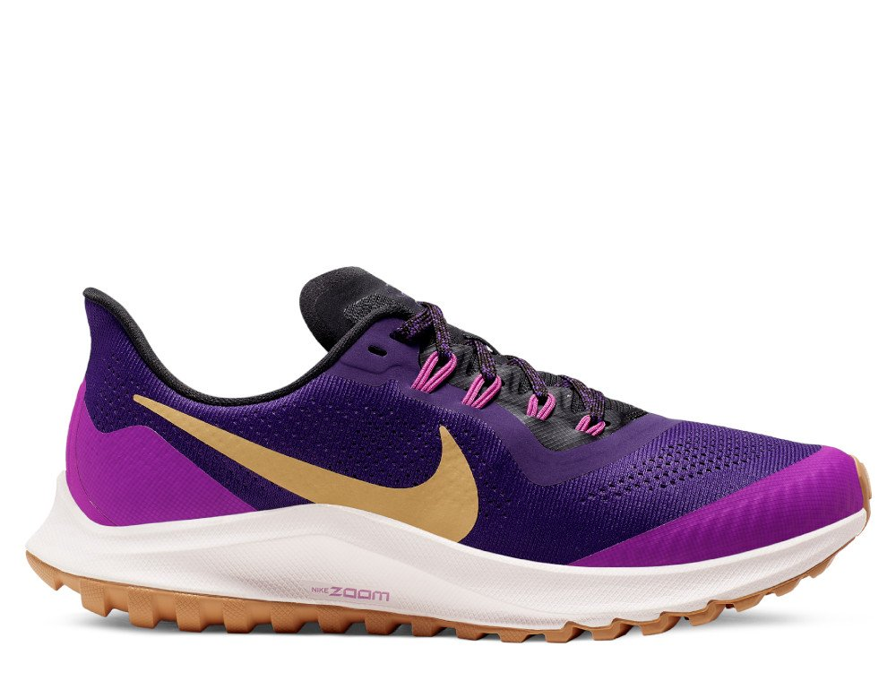 nike air zoom pegasus 36 trail w fioletowe