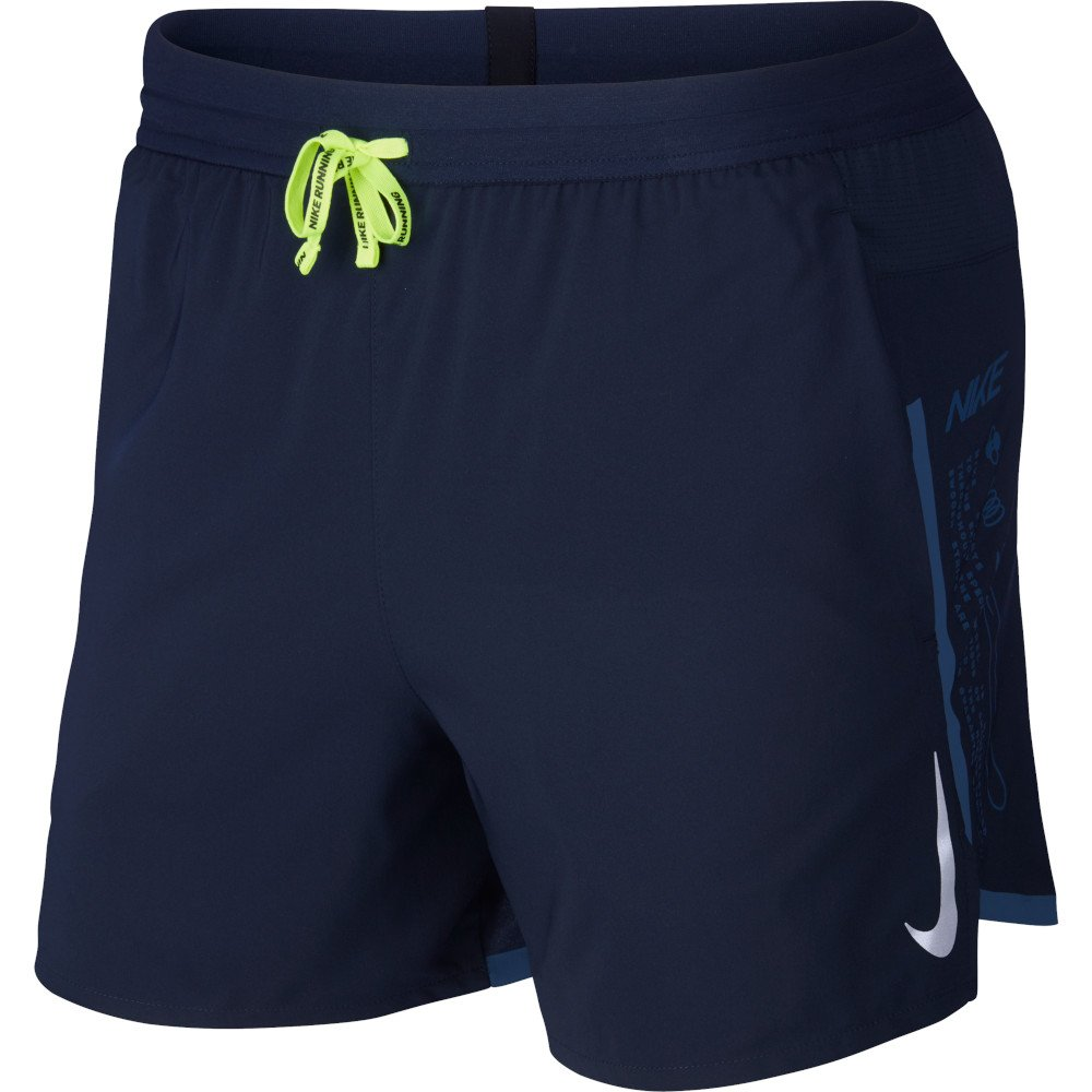 nike air flex stride 5 inch lined shorts m obsydianowe