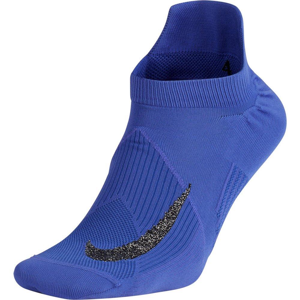 nike elite lightweight no-show socks u fioletowe
