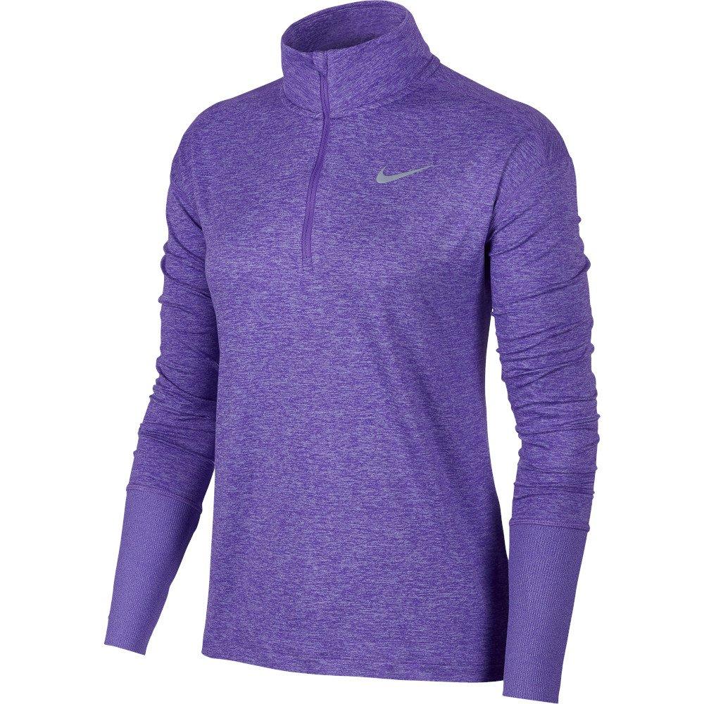 bluza nike half-zip top w fioletowa