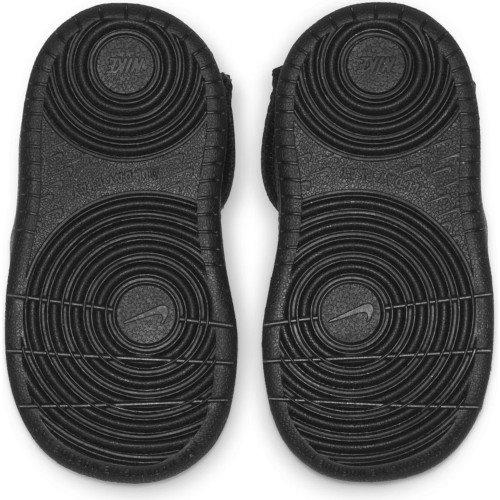 nike court borough mid 2 boot (td) czarne