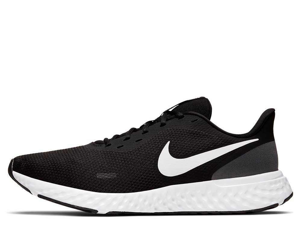 szaro czarne sneakersy damskie do biegania Nike Revolution 5