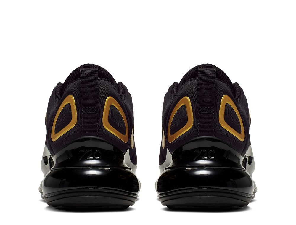 Nike Air Max 720 (GS) Młodzieżowe Czarne (AQ3196 014)