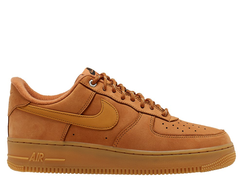 nike air force 1 '07 wb męskie brązowe (cj9179-200)