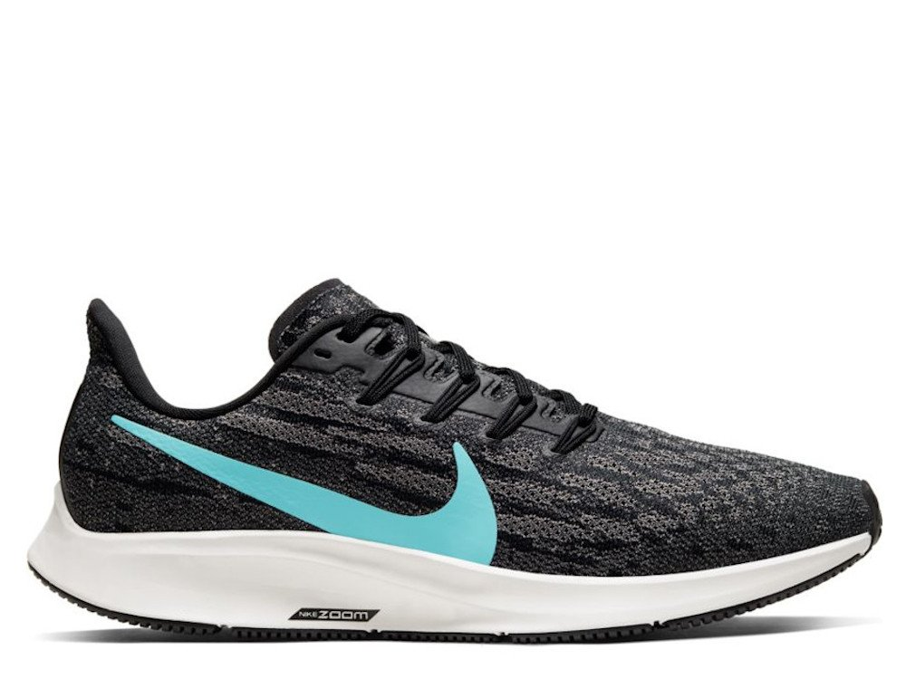 Nike Air Zoom Pegasus 36 M Czarno Niebieskie