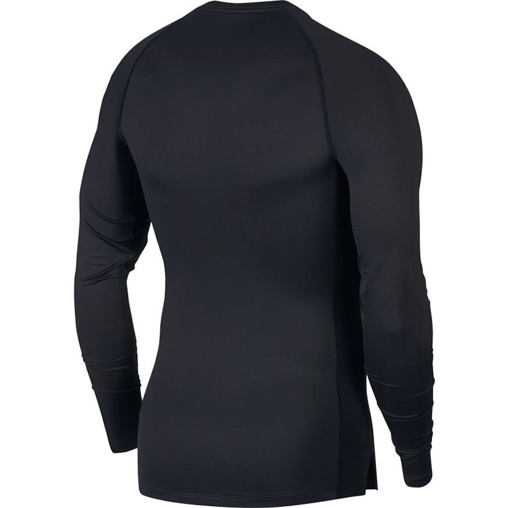 nike pro long-sleeve top m czarna