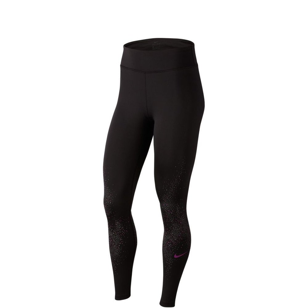 nike fast flash running tights w czarne