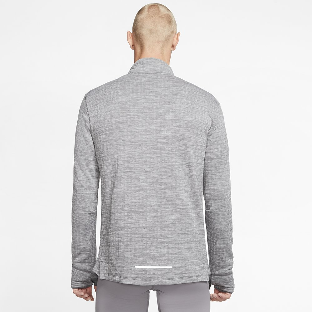 nike therma sphere element half-zip 3.0 m szara